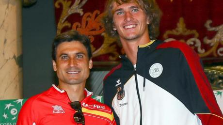 David Ferrer (l) könnte der nächste Coach von Alexander Zverev sein.