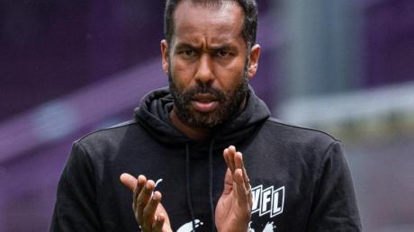 Sieht ein «brutales Potenzial» im Team des Hamburger SV: Neu-Trainer Daniel Thioune.