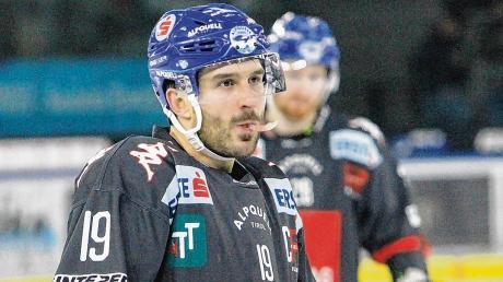 Tyler Spurgeon wechsel vom HC Innsbruck zum ESV Kaufbeuren. Der Kanadier ist nach Fabian Voit der zweite externe Neuzugang beim ESVK.