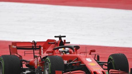 Will beim zweiten Rennen in Österreich Wiedergutmachung für seine Patzer zum Start betreiben: Sebastian Vettel.