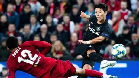 Tauscht das Salzburg- gegen das Leipzig-Trikot: Hee-chan Hwang.