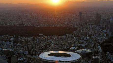 Soll 2021 Austragungsstätte der Olympischen Spiele sein: Das Nationalstadion in Tokio.
