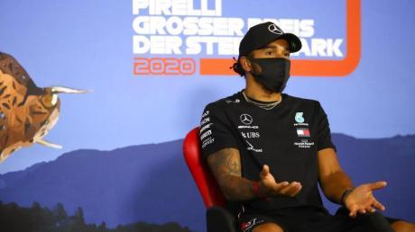 Wünscht sich Sebastian Vettel weiter in der Formel 1: Weltmeister Lewis Hamilton.