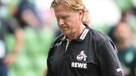 Steht vor der Vertragsverlängerung beim 1. FC Köln: Trainer Markus Gisdol.