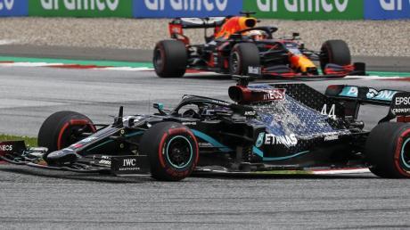 Weltmeister Lewis Hamilton holte sich beim zweiten Spielberg-Rennen den Sieg.