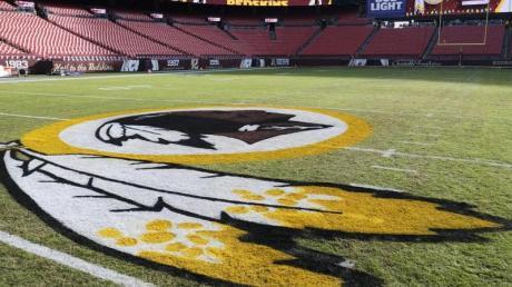 Das Logo der Washington Redskins.