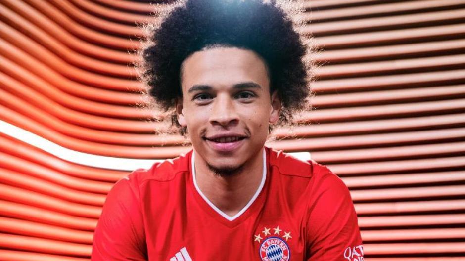Leroy Sané ist neu beim FC Bayern München.