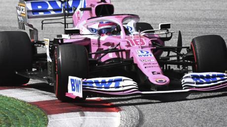 Eine Option für Sebastian Vettel: Racing Point, das Team mit den Rennwagen in pink?.