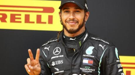 Strebt einen weiteren Sieg auf dem Hungaroring an: Lewis Hamilton.