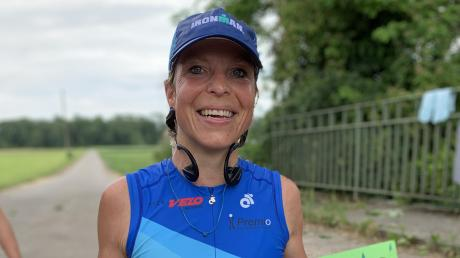 Dani Unger absolviert auch zu Corona-Zeiten ihre Triathlons.