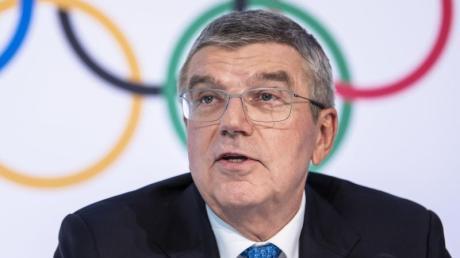 Thomas Bach will Präsident des IOC bleiben.