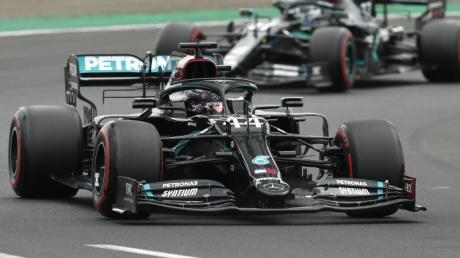Lewis Hamilton holte sich in Ungarn die 90. Pole seiner Karriere.
