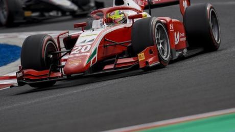 Mick Schumacher fuhr zum ersten Mal in dieser Saison aufs Podest.