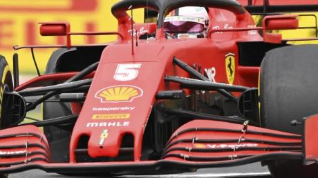 Vettel ist nach Platz sechs in Ungarn nur WM-Zehnter.
