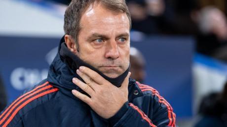 Trainer Hansi Flick und die Bayern rechnen sich in der Champions League Titelchancen aus.