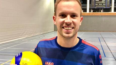 Dillingens Andreas Ludewigt ist Volleyballer von ganzem Herzen.