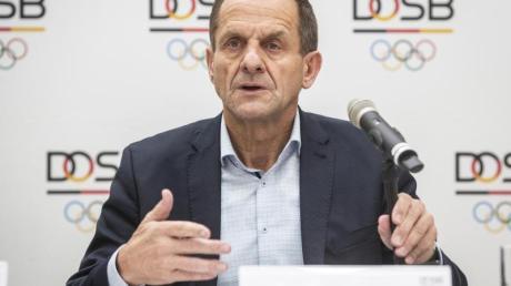 Sorgt sich um die Tokio-Spiele 2021: DOSB-Boss Alfons Hörmann.