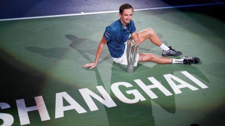 Vorjahressieger Daniil Medwedew wird seinen Titel in Shanghai in diesem Jahr nicht verteidigen können.