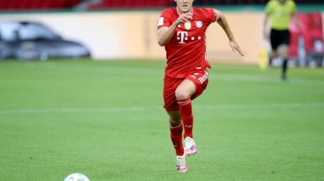 Benjamin Pavard hat sich beim FC Bayern auf der rechten Abwehrseite festgespielt.