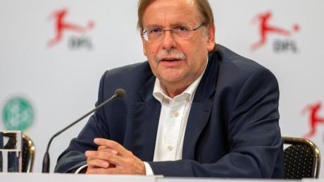 Rainer Koch hofft angesichts der finanziellen Folgen der Corona-Krise auf einen Sinneswandel im Amateurbereich.