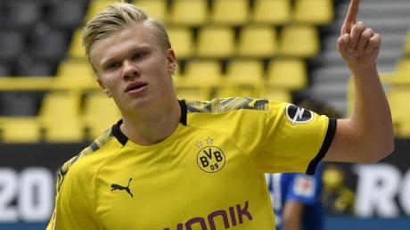 Traut Borussia Dortmund die Meisterschaft zu: Torjäger Erling Haaland.