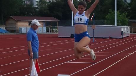 Trotz Studium und Corona will heuer Sophia Müller bei Meisterschaften weit und hoch hinaus.