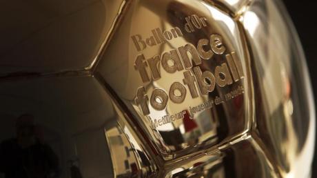 Auszeichnung für den Weltfußballer des Jahres: Der Ballon d'Or.