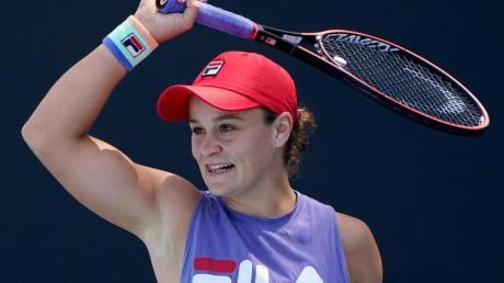 Verzichtet auf die Teilnahmen an den US Open: Ashleigh Barty.