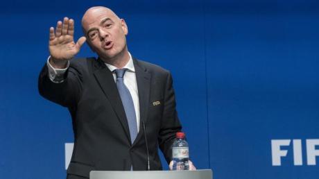 Hat ein Strafverfahren im Nacken: FIFA-Präsident Gianni Infantino.