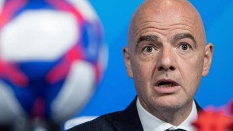 Wurde erst im Januar in das IOC aufgenommen: Der Chef des Fußball-Weltverbandes FIFA, Gianni Infantino.