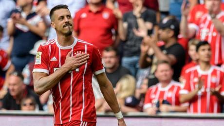 Sagt dem aktiven Fußball Servus: Ex-Bayern-Stürmer Sandro Wagner.