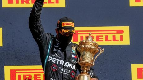 Lewis Hamilton siegte bei seinem Heimrennen in Silverstone.