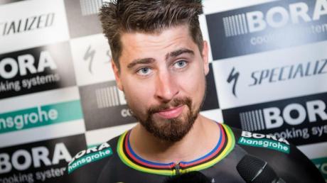Peter Sagan steht noch beim deutschen RadrennstallBora-hansgrohe unter Vertrag.