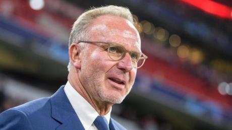 Bayern-Boss Karl-Heinz Rummenigge freut sich auf die Champions League.