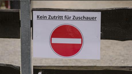 Bei den Turnieren im Ulrichshof sind Zuschauer aufgrund der Infektionsschutzverordnung weiterhin nicht erlaubt.