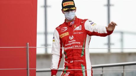 Wurde beim Sprintrennen der Formel 2, in Silverstone Zweiter: Mick Schumacher.