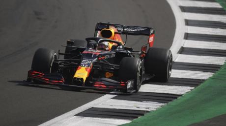 Niederländischer Sieger in Silverstone: Max Verstappen.