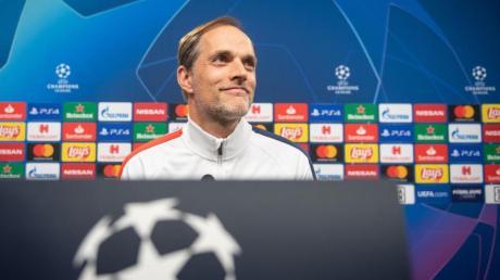 PSG-Trainer Thomas Tuchel trifft mit seinem Team in der Champions League auf Atalanta Bergamo.