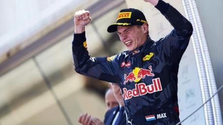 Hat Red-Bull-Pilot Max Verstappen auch in Barcelona Grund zum Jubel?.