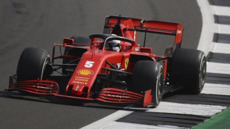 Bekommt in Barcelona ein neues Chassis: Ferrari-Pilot Sebastian Vettel.