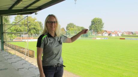 Der Fußballplatz in Lutzingen ist ihr zweites Zuhause: Jugendleiterin Irene Rieder kümmert sich bei der SG nicht nur um den Nachwuchs, sondern auch um viele andere Dinge. Außerdem ist sie Vorsitzende des Fördervereins.