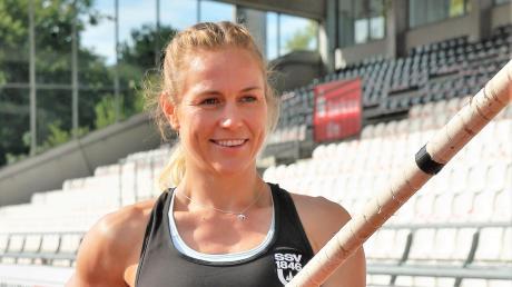 Stefanie Berndorfer ist eine von vier SSV-Leichtathleten, die bei der Hallenmeisterschaft in Dortmund an den Start gehen.