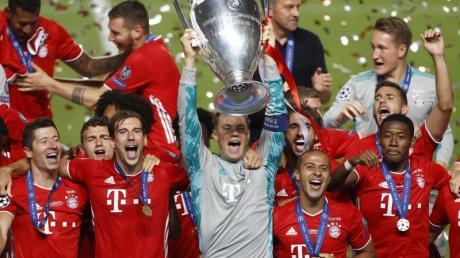 Der FCBayern gewann zum dritten Mal die Champions League.