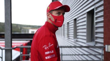 Fährt diese Saison hinterher: Kann Sebastian Vettel mit Ferrari das Ruder herumreißen?.