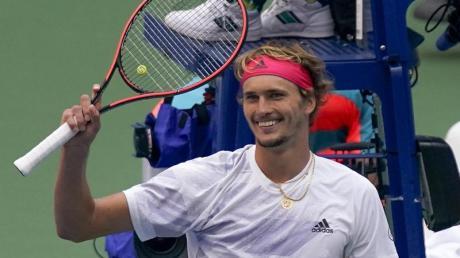 Hat Alexander Zverev auch nach US-Open-Halbfinale noch gut lachen?.