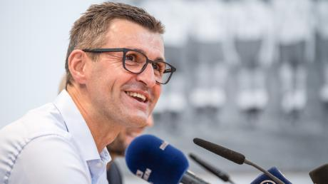 Gute Laune: Bei 1860 München und Trainer Michael Köllner läuft es derzeit.