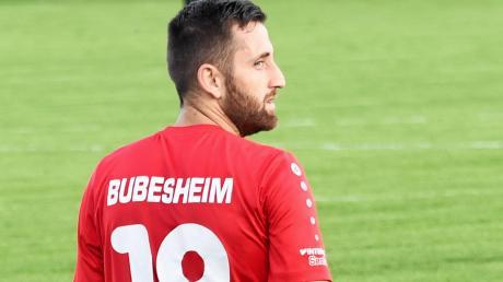 Neustart missglückt: Der Fußball-Bezirksligist SC Bubesheim (unser Archivbild zeigt Hakan Polat) ging in Wertingen leer aus.