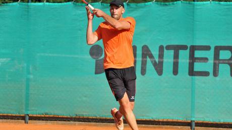 Der Wertinger Fabian Demharter erreichte mit seinem Team beim Tennis-Team-Cup in Höchstädt Rang fünf.