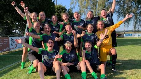 Ein Restart nach Maß gelang den Spielerinnen des SV Wattenweiler mit dem überraschenden Pokalsieg gegen den Bezirksoberligisten TSV Ottobeuren.