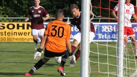 Moritz Wagner war beim 2:1 des FC Mertingen in der Vorwoche beim BC Adelzhausen der Matchwinner.